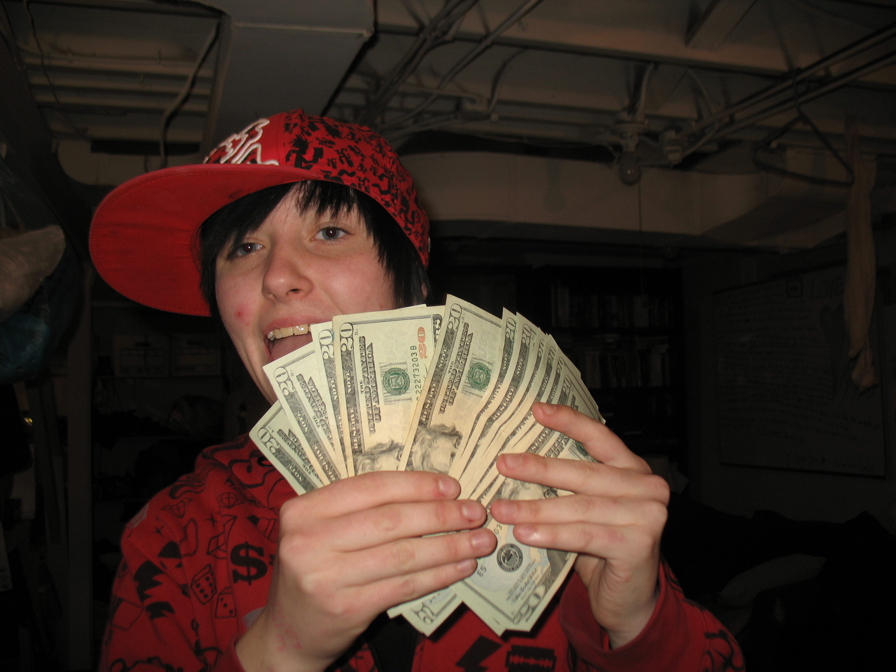 aiden with money aiden rivera schaeff